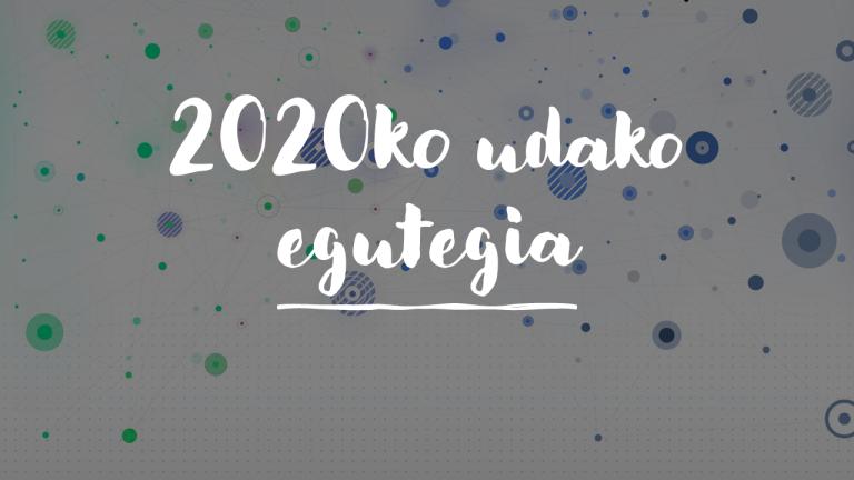 2020ko udako egutegia